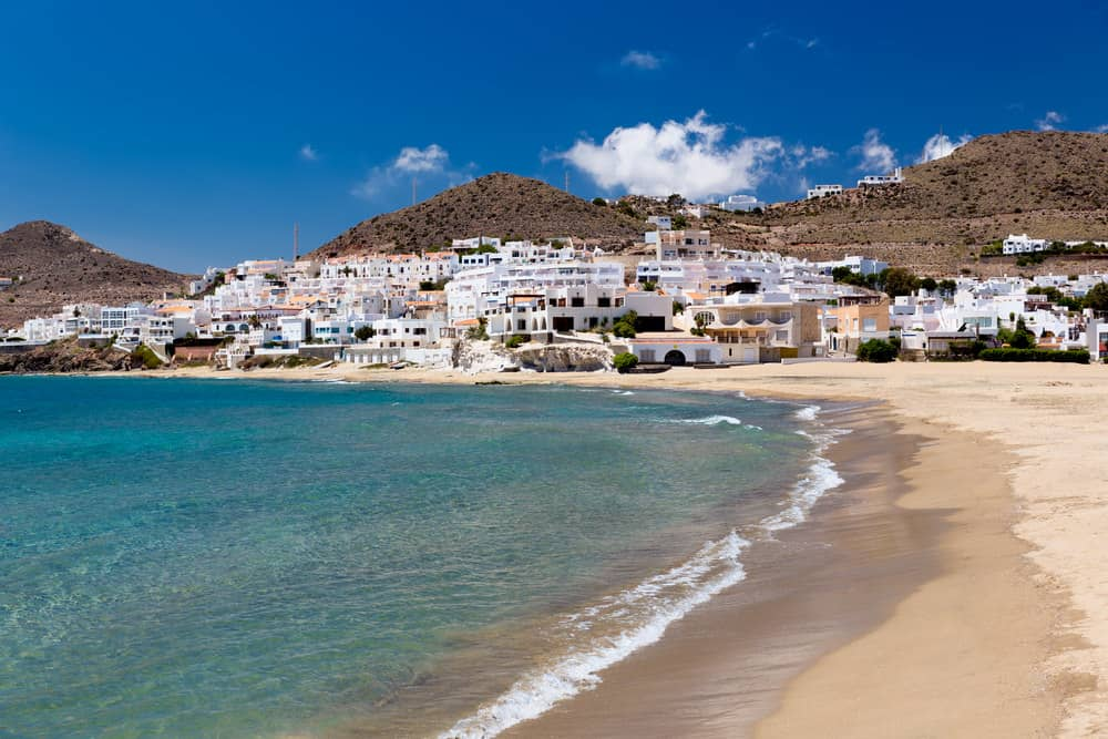 beach weather in cabo de gata almeria spain in july