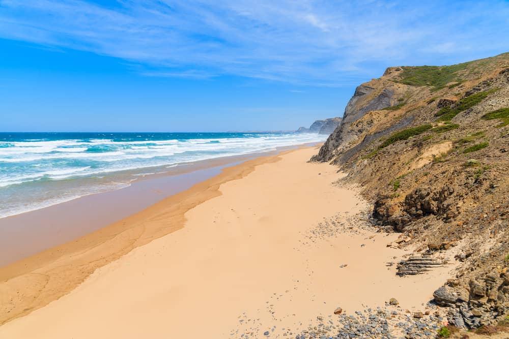 Algarve Weather February >> Beach weather in Praia do Castelejo, Vila do Bispo, Portugal in August
