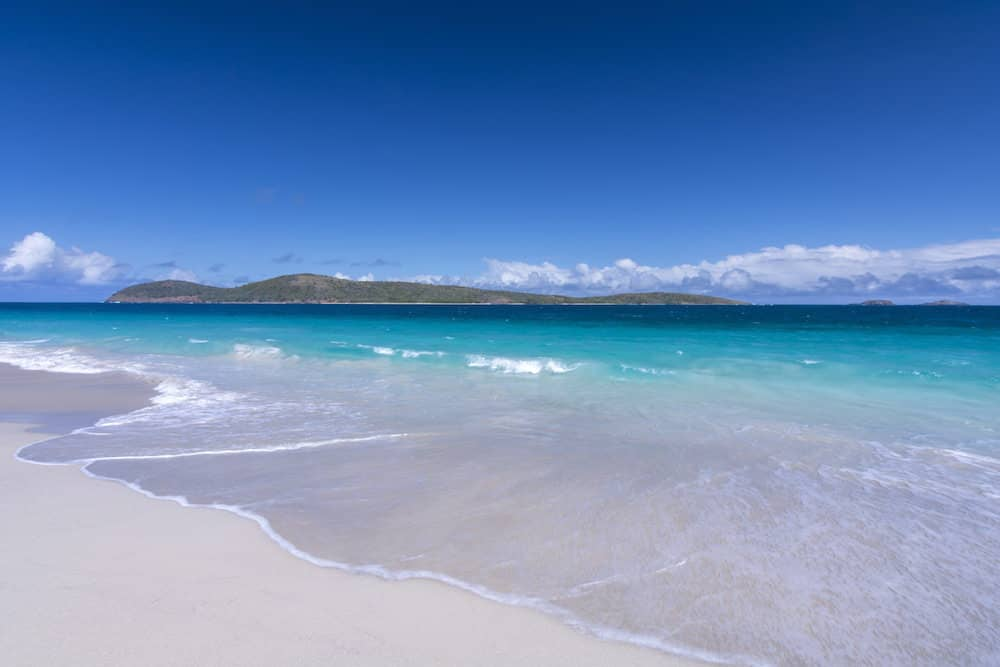 British Virgin Islands Weather August