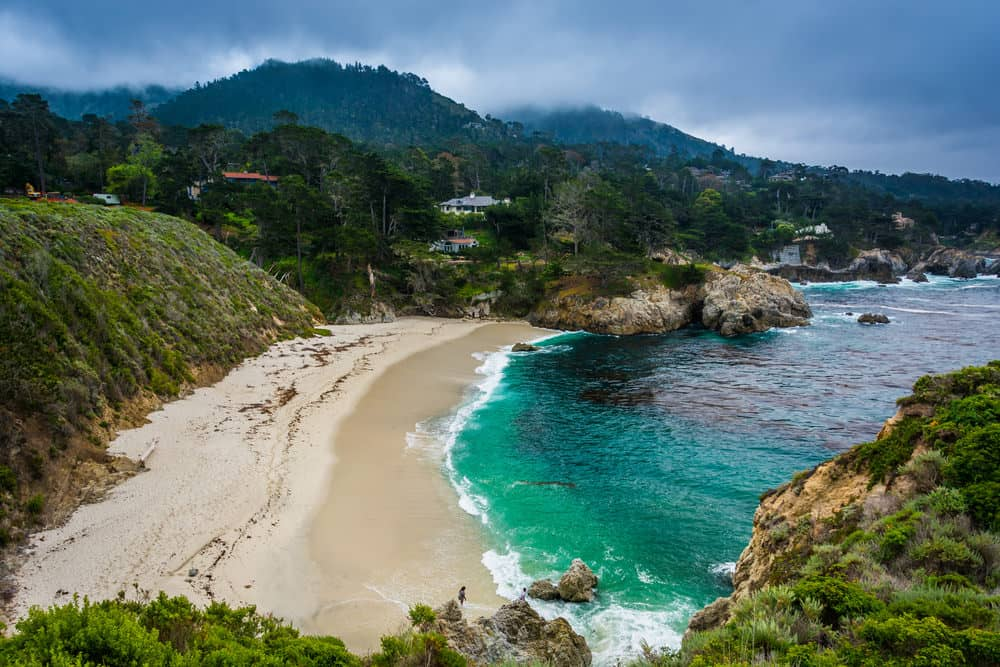 beach weather in gibson beach  point lobos state natural