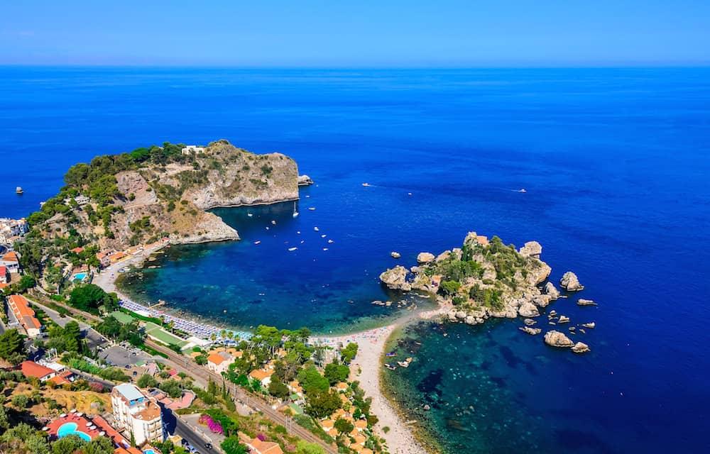 Beach Weather Forecast For Isola Bella Taormina Italy
