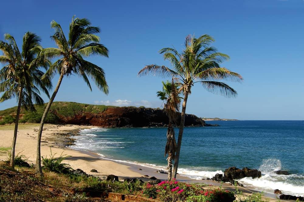 Beach Weather In Kepuhi Bay Molokai Island United States