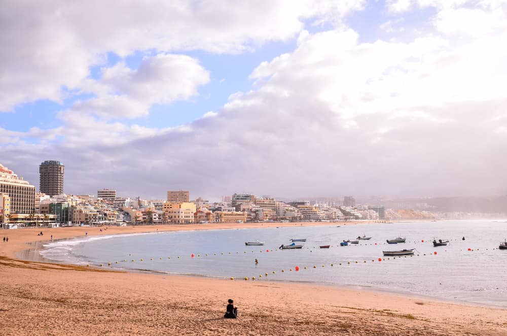 Annual average weather for playa de las canteras las - Gran canaria weather november ...