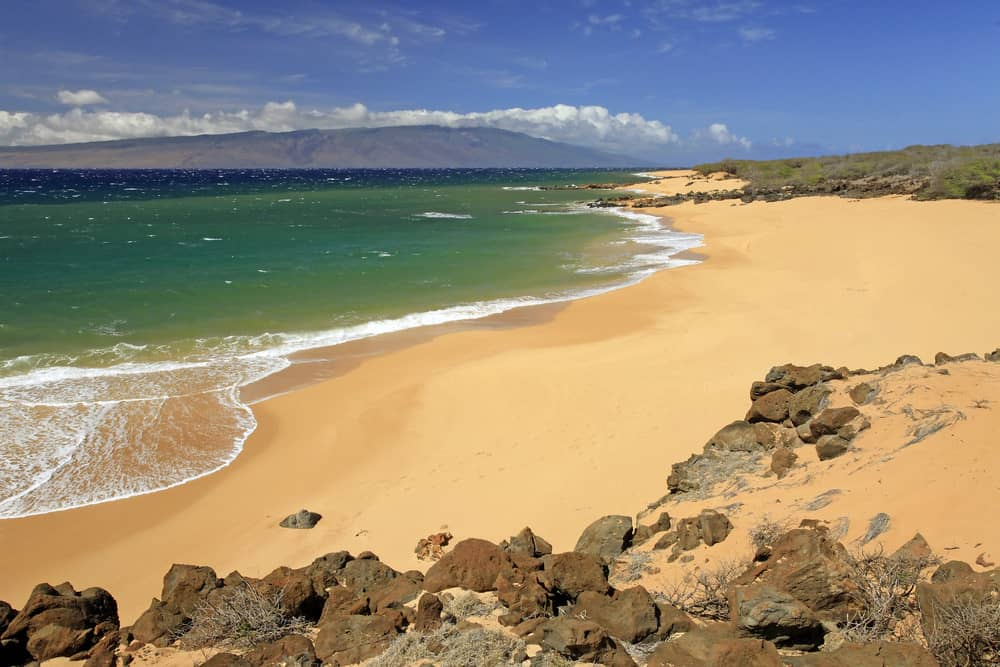 Beach weather in polihua beach lanai island united for Warmest florida beaches in december