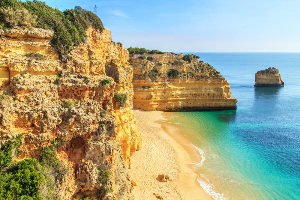 Algarve Weather February >> Annual average weather for Praia da Rocha, Portimao, Portugal