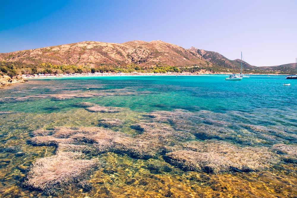 Annual average weather for Spiaggia di Tuerredda, Cagliari ...