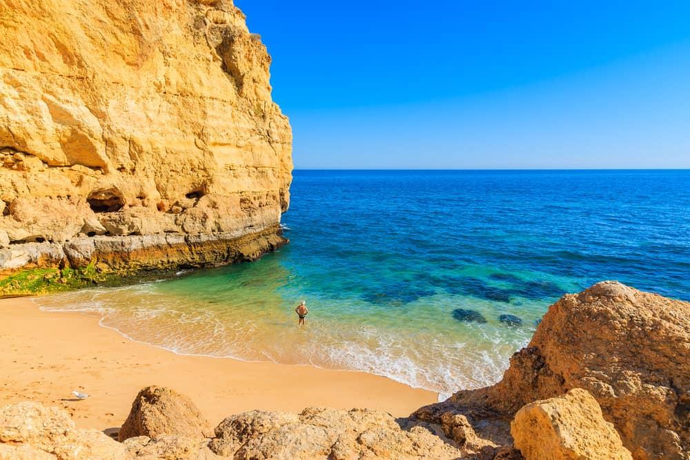 Algarve Weather February >> Annual average weather for Praia do Vale de Centianes ...