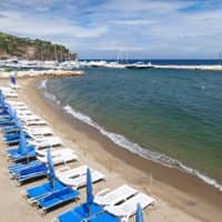 Lacco Ameno Beach